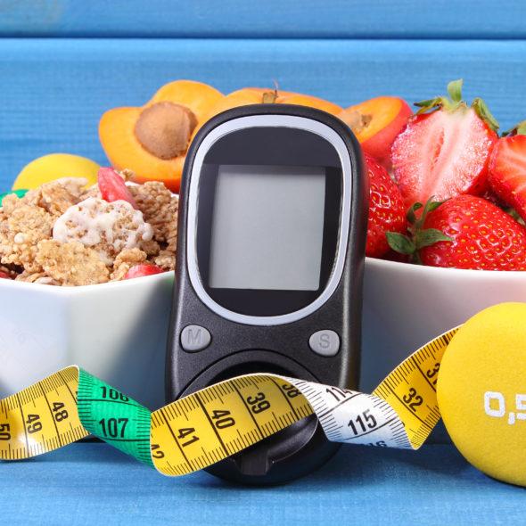 Cukrzyca typu 2. Dieta.