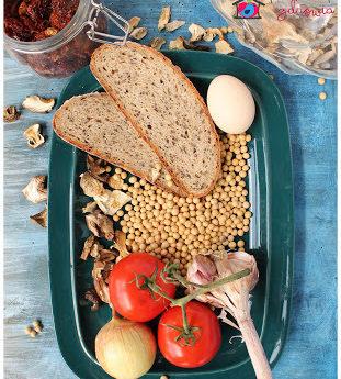 PASZTET SOJOWY Z POMIDORAMI – obniża cholesterol, działa antynowotworowo, łagodzi objawy klimakterium